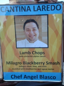 Chef Angel Biasco at Chicago and Chefs on the Grill 2012