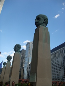 Merchandise Mart Hall of Fame in Chicago