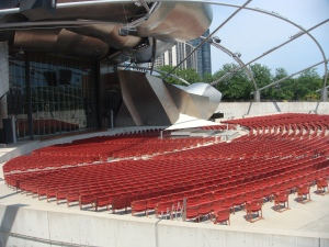 Jay Pritzker Pavillion in Chicago