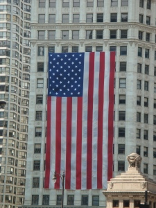 4th of July at the Wrigley Building in Magnificent Chicago