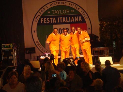 Legendary Drifters at Taylor Street Italian Festival 2012