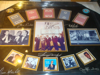 Silent Auction Item with The Rat Pack