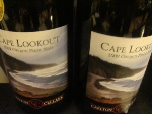 Cape Lookout Wine from Carlton Cellars in Carlton Oregon