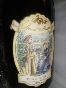 Anne Amie Pinot Noir Wine from the Oregon's Willamette Valley
