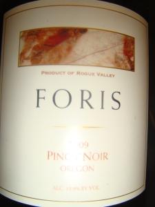 Foris Pinot Noir