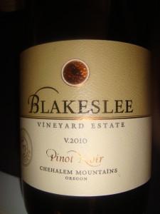 Blakeslee Vineyard