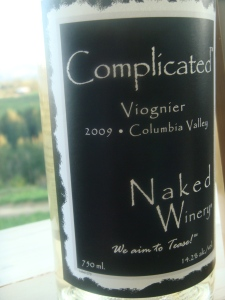 Naked Winery in Oregon