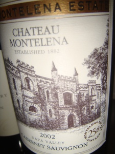 Chateau Montelena from Napa