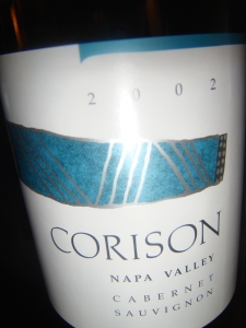 Corison from Napa