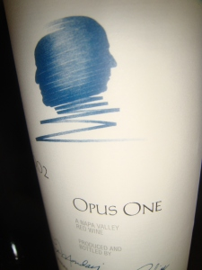 Opus One from Napa