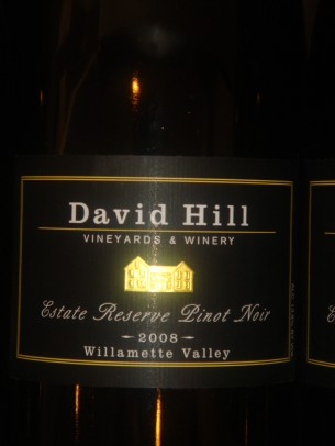 David Hill has the oldest Pinot Noir Vines in the WIllamette Valley