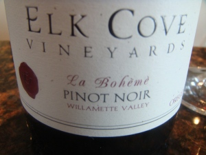 Elk Cove Vineyards in the Northwest Willamette Valley