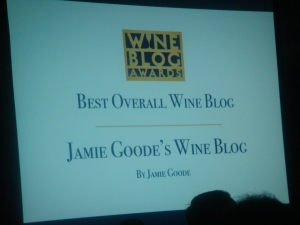 Best Overall Wine Blog by Jamie Goode