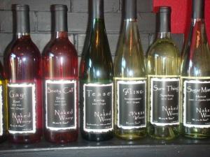 Naked Winery Tasting Room in Hood River Oregon