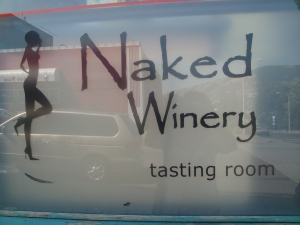 Naked Winery Tasting Room in Oregon