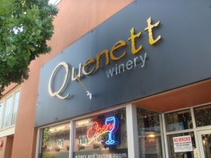 Quenette Winery Tasting Room in Hood River