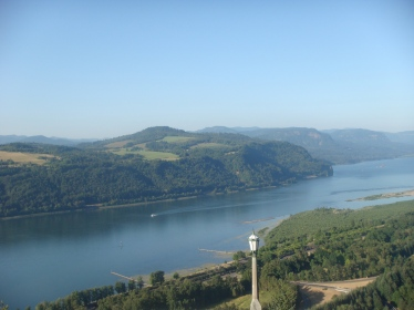 The Columbia River in Majestic Oregon