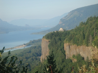 Crown Point Vista House in Oregon