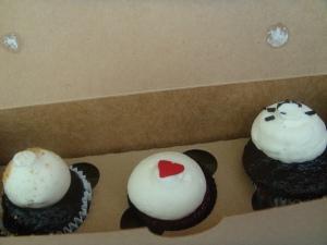 Sweet Ride mini Cupcakes