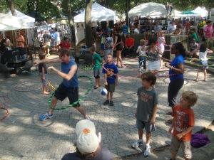 Hula Hoop in Bucktown