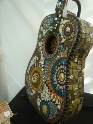 Cool Mosaic Guitar