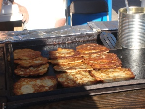Potato Pancakes at Edge Fest 2012