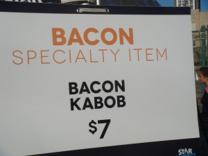 Bacon Kabob at Edge Fest 2012