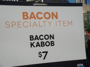 Bacon Kabob at Edge Fest 2012