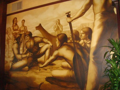 Murals in the Governor Hotel