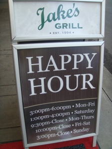 Happy Hour at Jakes Grill in the Governors Hotel in Portland Oregon