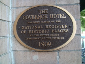 The Governor Hotel in Portland Oregon