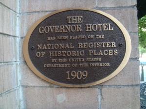 The Governor Hotel in Portland Oregon