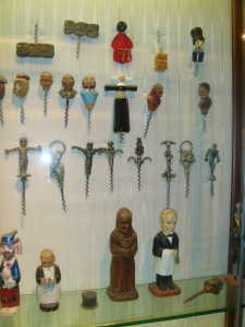I love Brother Timothy's Corkscrew collection in the CIA in St. Helena