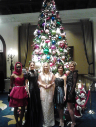 Fashion Show at the Drake during Holiday Tea