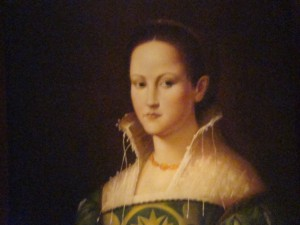 A Florentine Noble Woman, 1540, Bronzino
