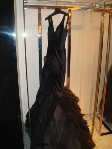Black Gown at Bergdorf Goodman
