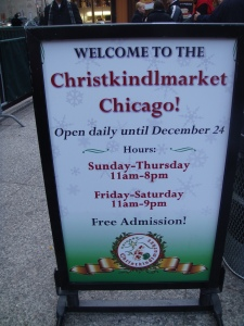 Christkindlmarket Chicago 2012