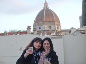 Vino con VIsta in Florence Italy