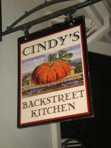 Cindy's Backstreet Kitchen in St. Helena