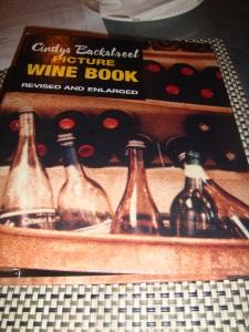 Cindy's Wine List Napa 2014