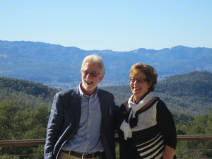 Michael Mondavi and Kathy Merchant 2014