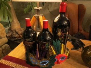 Mardi Gras Party at Raymond Winery 2014