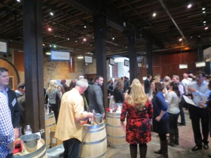 Barrel Tastings at Premier Napa 2014