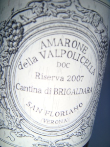 Amarone from Verona