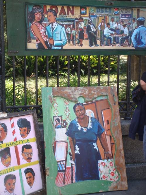Art in New Orleans Art near Jackson Square