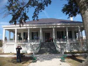 Confederate President Jefferson Davis House called Beavoir in Biloxi Mississippi