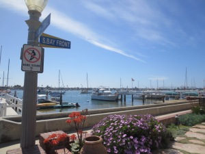 Balboa Island in Newport Beach California