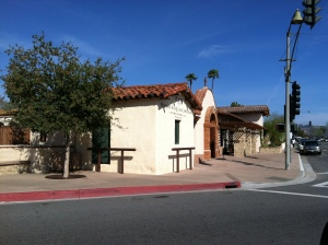 Acroos the street from the Mission: Cedar Creek Inn in San Juan Capistrano for lunch