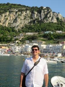 Anthony in Capri
