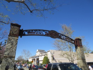 Old Town Arch in Temecula California